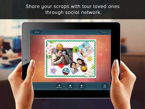 Scrapbook - Collage your memories to relive screenshot