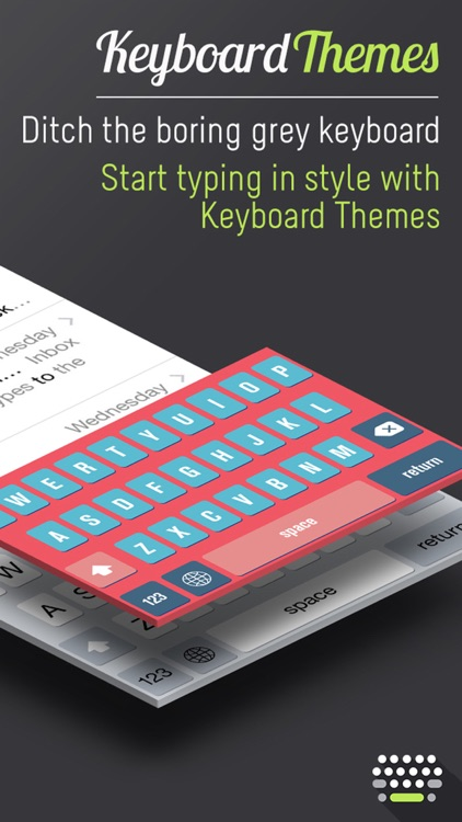 Keyboard Themes - Custom Color Keyboards & Font Style for iPhone & iPad (iOS 8 Edition) screenshot-4