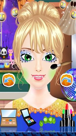 Halloween Kostüm Party Dress Up - Spa Salon Spuk Make-up & Makeover ...