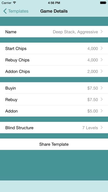 Poker Tournament Blind Timer screenshot-4