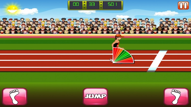 Triple Jump Hero - Join The Athletics Games screenshot-3