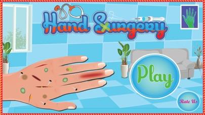 Cirugía de la Mano - gratuito Médico Cirujano y la asistencia médica de juegos para niñosCaptura de pantalla de1