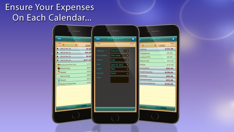 Home Budget Manager HD for iPhone screenshot-4