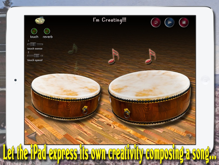 i Play My Japanese Drums HD screenshot-4