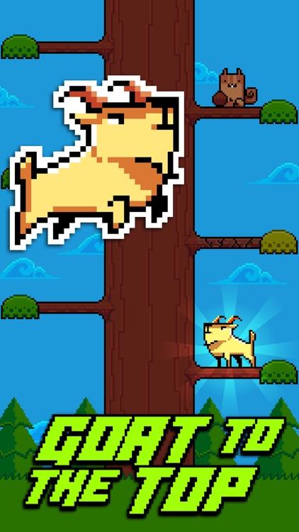 Goat Up! Mountain Goats Climb Timber Trees