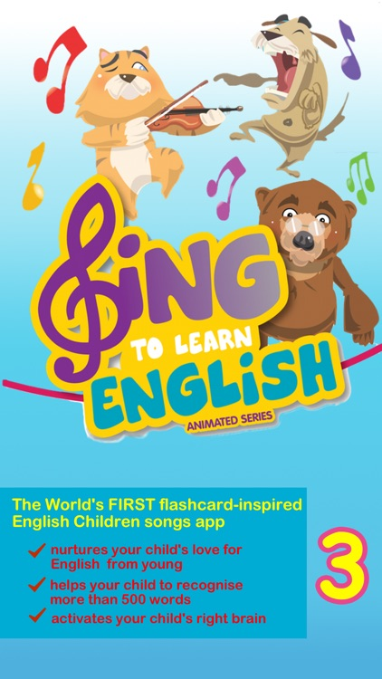 Sing to Learn English Animated Series 3