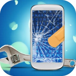 Break your phone - broken screen