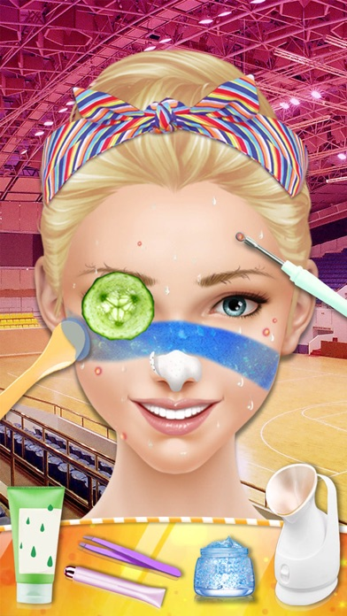 Cheerleader Salon™ Basketball Madness Makeover screenshot two