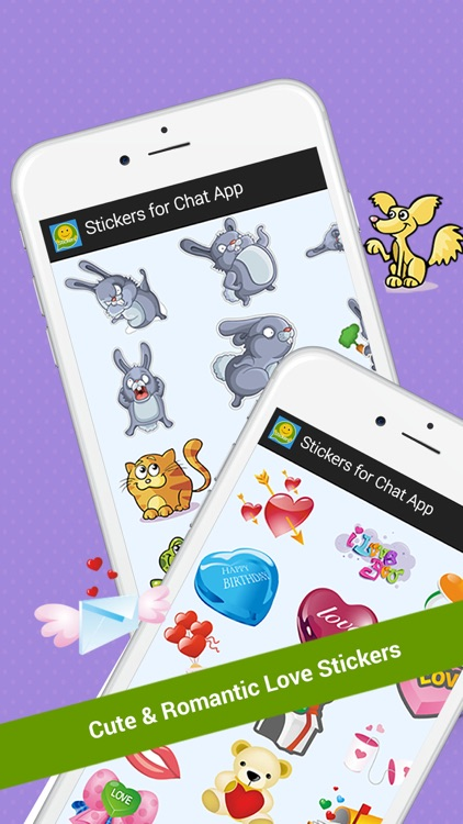 Free Stickers for Chat  App screenshot-4