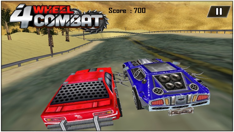 4 Wheel Combat ( 3d Car Racing Action Game ) screenshot-1