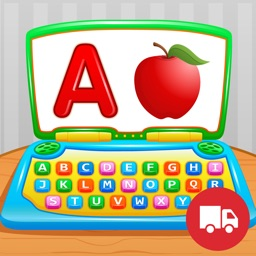 My First ABC Laptop Free - Learning Alphabet Letters Game for Toddlers and Preschool Kids