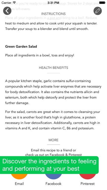 3 Day Cleanse - High Raw Food Meal Plan screenshot-3