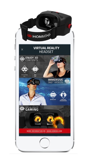 Homido 360 VR player on the App Store