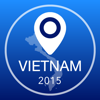 Vietnam Offline Map + City Guide Navigator, Attractions and Transports