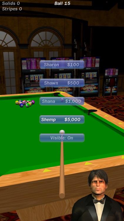Vegas Pool Sharks HD Lite screenshot-3