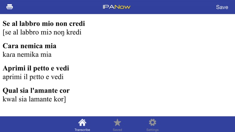 IPANow! Italian screenshot-2