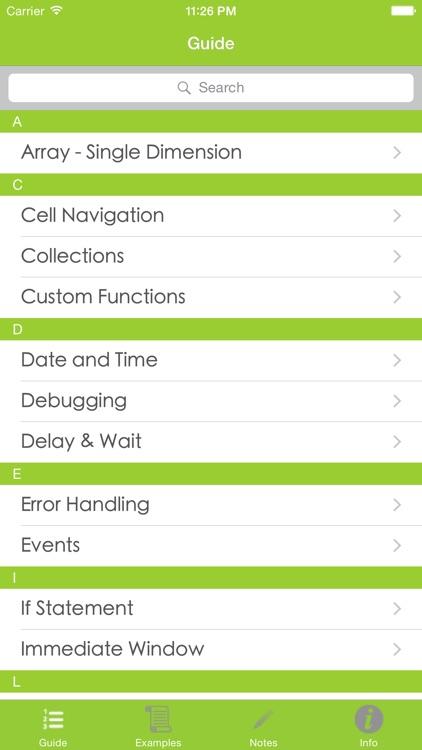 VBA Guide For Excel screenshot-4