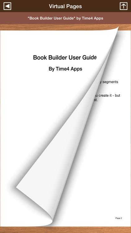 Book Builder - Writer's Development App screenshot-3
