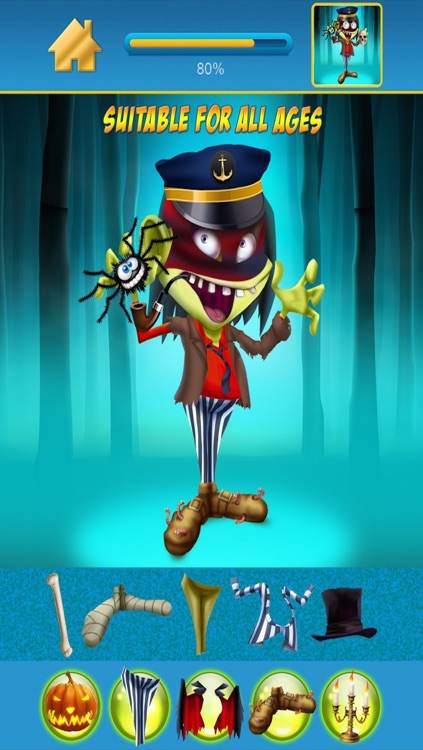 My Scary Little Zombies And Monsters Draw and Copy Game Free Game screenshot-4