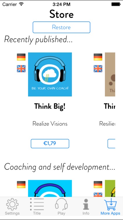Get relaxed free! - Personal Hypnosis Program screenshot-4