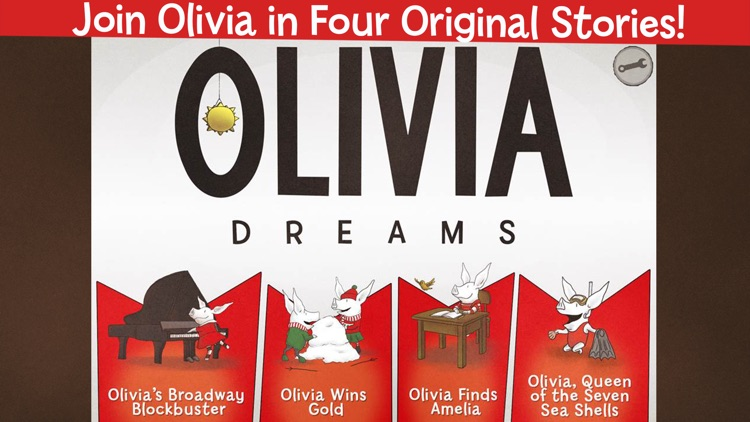 Olivia Dreams: An Interactive Storybook screenshot-0