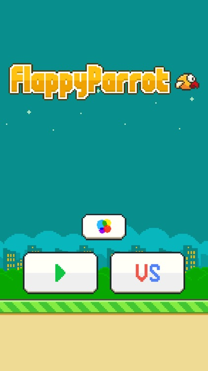 Flappy Parrot - Bird Resurrection after fall or smash and 2 Players support screenshot-3
