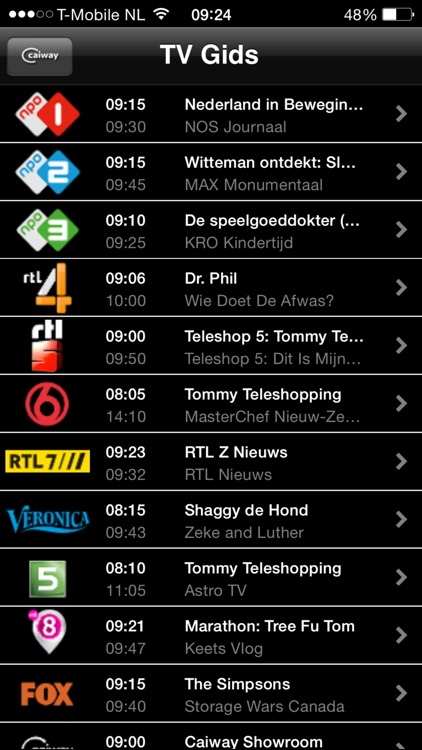 Multiscreen TV for iPhone