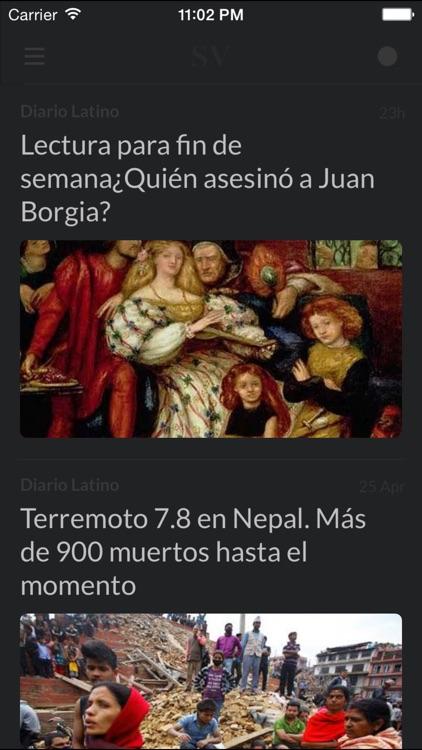 Periódicos SV - Los mejores diarios y noticias de la prensa en El Salvador screenshot-4