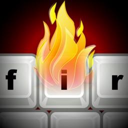 Fire Keyboard - Draw Flaming GIFs!
