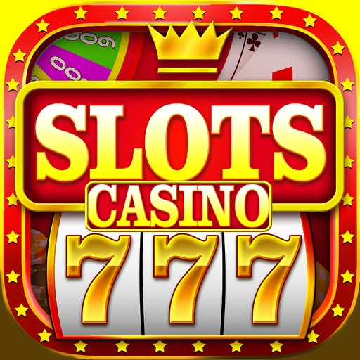 `King Caesars Jackpot Gold 777 Casino Slots - Slot Machine with Blackjack, Solitaire, Bonus Prize Wheel