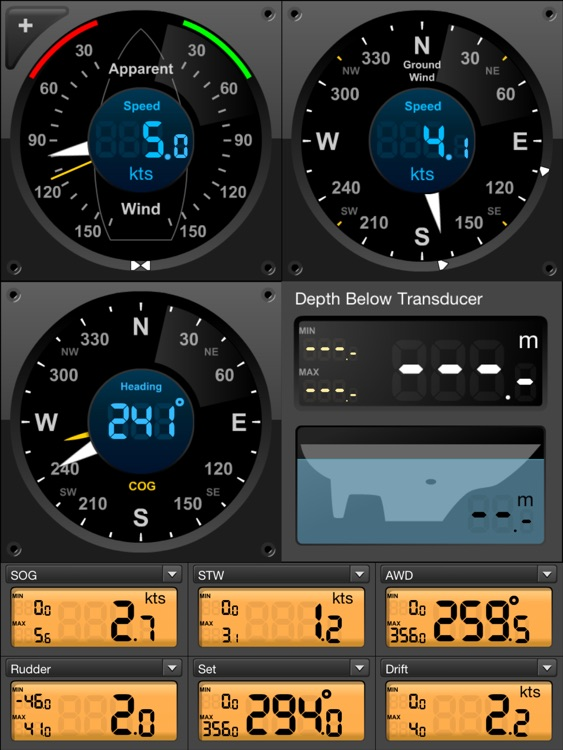 Seamantec - EDO Sailing Instruments screenshot-2