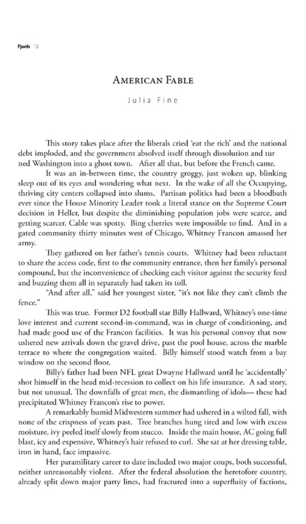 Fjords Review - Literature and Fine Art for the 21st Century Reader screenshot-4