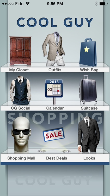 Cool Guy - Fashion Closet and Style Shopping App for Men