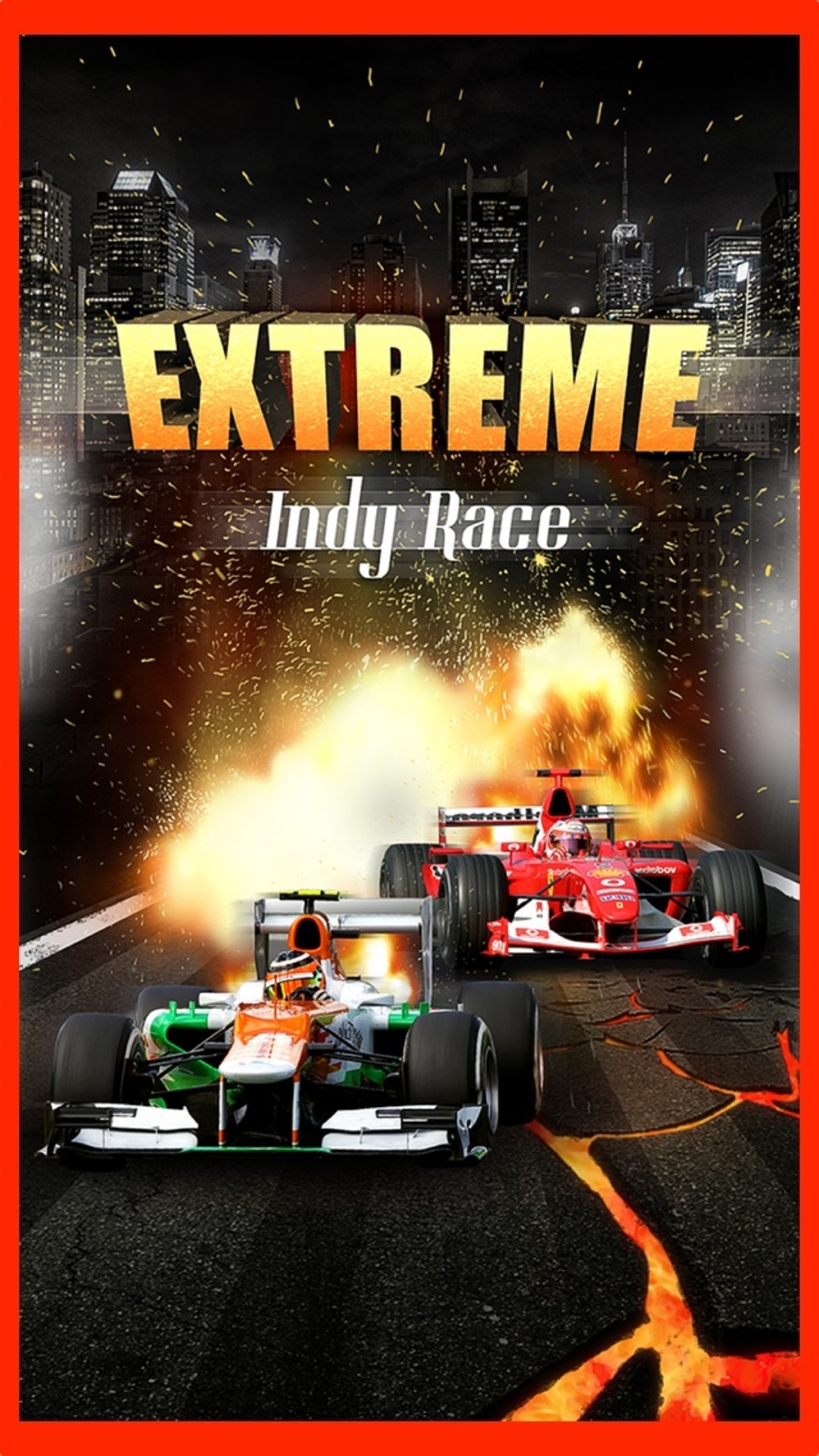 An Extreme 3D Indy Car Race Fun Free High Speed Real Racing Game Cheat Codes