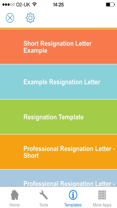 Resignation Letter Sample - Templates and Examples of Job Resignation Letters screenshot three