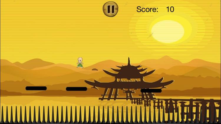 A Tiny Karate Master FREE - Epic Jumping Warrior screenshot-3