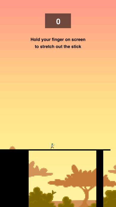 Zombie Stick - Pass the Crossy Bridge screenshot two