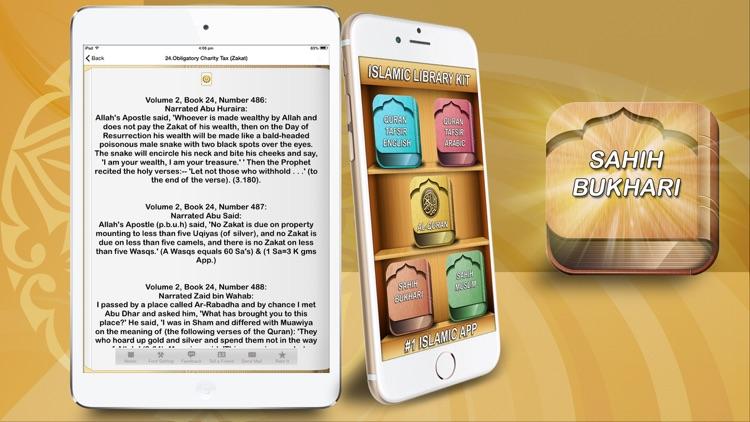 AL QURAN - Tafsir Best translations in english & arabic قرآن تفسیر  & Sahih Bukhari Muslim for Ramadan 2016 screenshot-3