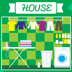 ABC House for Children! Learn First Words and Phrases in English