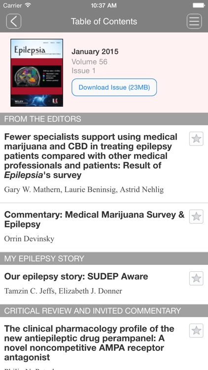 Epilepsia Journal