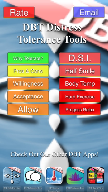 DBT Distress Tolerance Tools