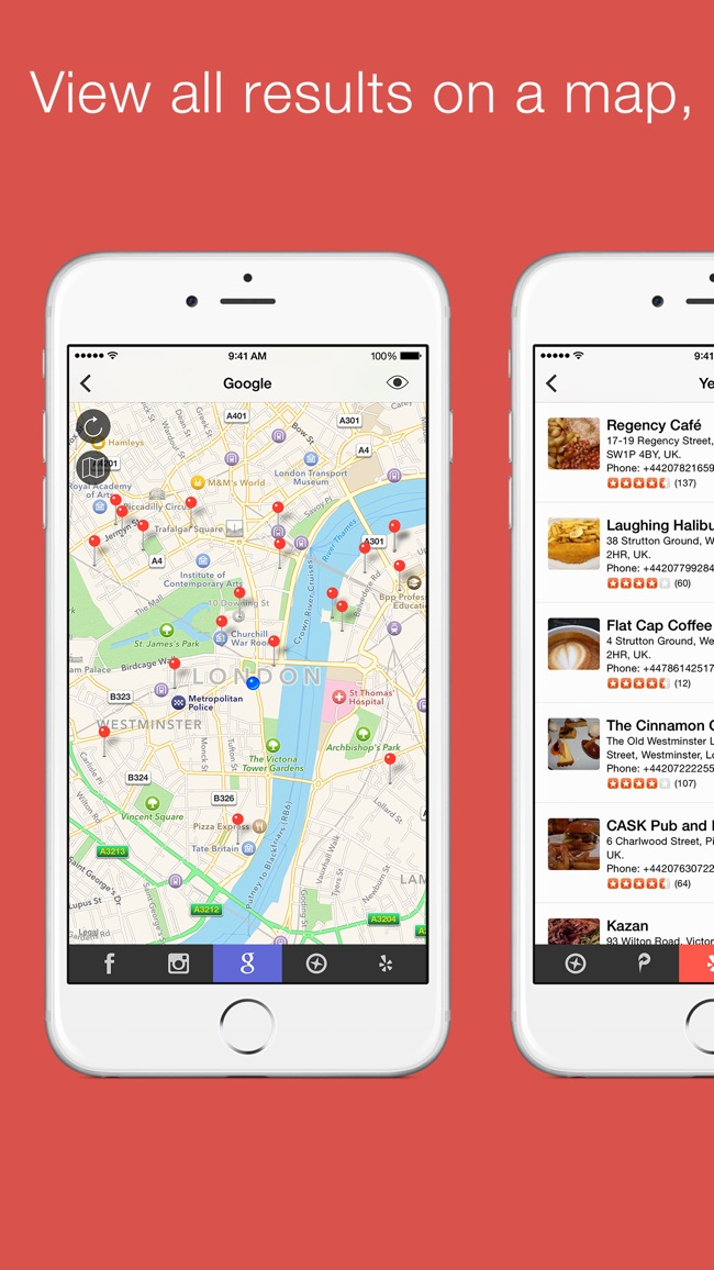 Localscope - Find places and people around you Screenshot