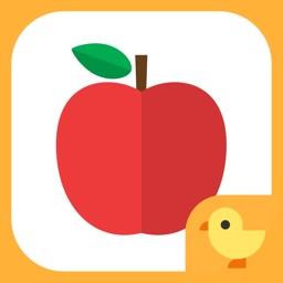 くだものいろあそび 〜 子供向け知育・教育アプリ 〜 ママといっしょにシリーズ