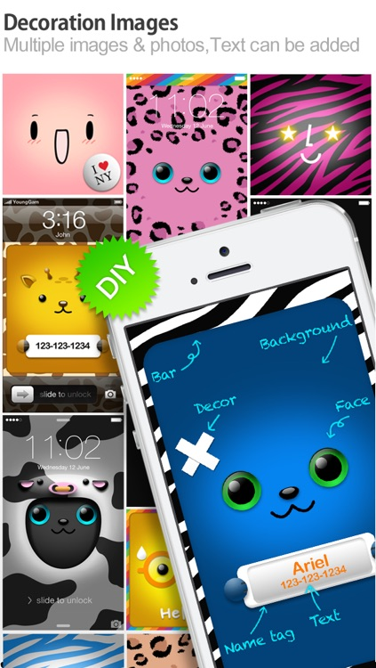 iFaceMaker ( Cute and funny faces ) : for Lock screen, Call screen, Contacts profile photo, instagram screenshot-4