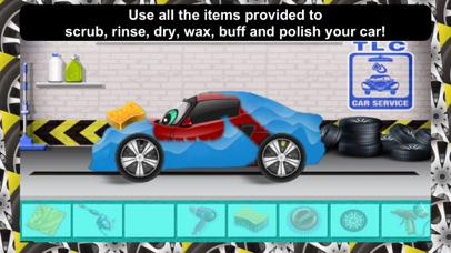 Awesome Lightning Fast Car Wash Salon and Auto Repair Game For Kids-2