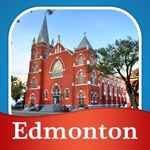 Edmonton Tour Guide: Offline Maps with Street View and Emergency Help Info icon
