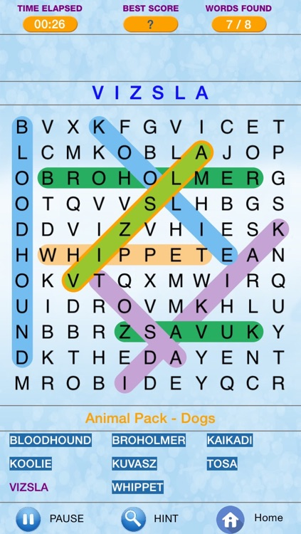 Word Search - Find Crossword Challenged  Puzzles screenshot-3