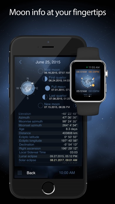 download Deluxe Moon Pro - Moon Phases Calendar apps 0