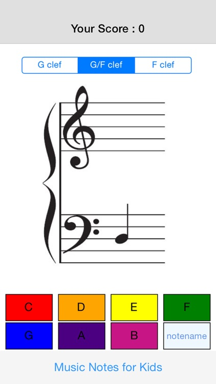 Music Notes for Kids - AD Free