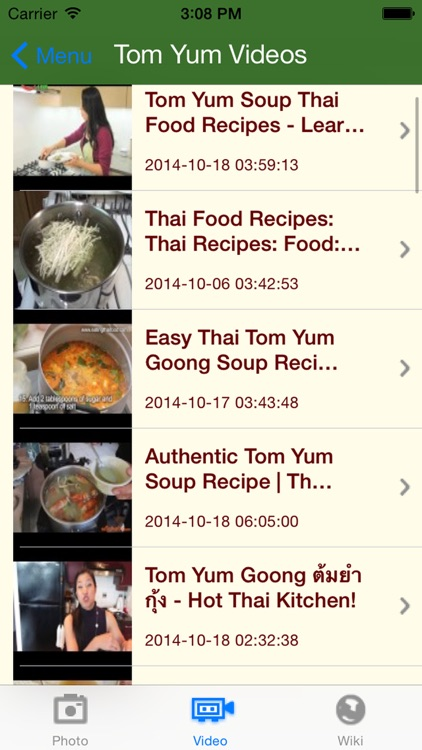 Thai Food & Recipes screenshot-3
